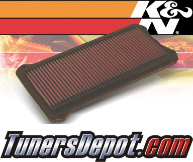 K&N® Drop in Air Filter Replacement - 97-99 Acura CL 3.0 3.0L V6
