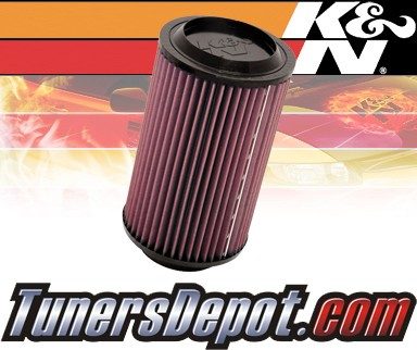 K&N® Drop in Air Filter Replacement - 97-99 Chevy Suburban C2500 6.5L V8 Diesel