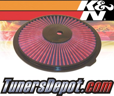 K&N® Drop in Air Filter Replacement - 98-00 Chevy Metro 1.0L L3