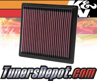 K&N® Drop in Air Filter Replacement - 98-00 Honda Civic GX 1.6L 4cyl