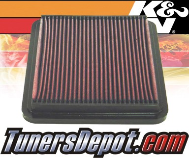 K&N® Drop in Air Filter Replacement - 98-00 Lexus GS400 4.0L V8