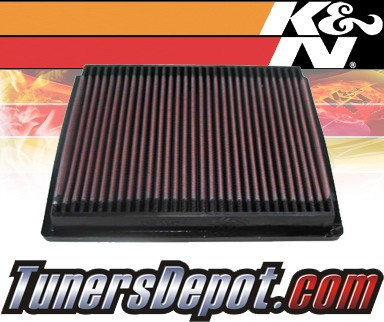 K&N® Drop in Air Filter Replacement - 98-00 Plymouth Breeze 2.4L 4cyl