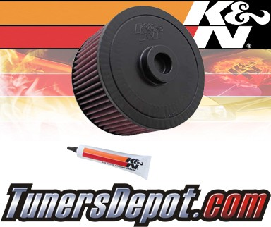 K&N® Drop in Air Filter Replacement - 98-01 Toyota Land Cruiser 4.5L L6