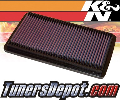K&N® Drop in Air Filter Replacement - 98-02 Honda Accord 2.3L 4cyl