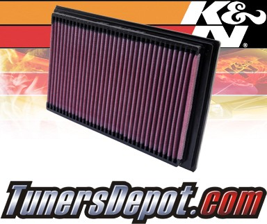 K&N® Drop in Air Filter Replacement - 98-02 Mazda 626 2.0L 4cyl