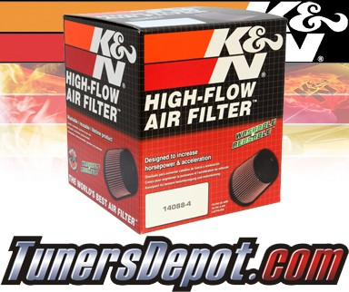 K&N® Drop in Air Filter Replacement - 98-03 Ford Escort 2.0L 4cyl