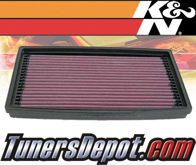 K&N® Drop in Air Filter Replacement - 98-03 Ford Focus 2.0L 4cyl