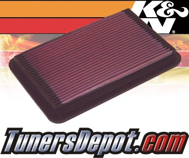 K&N® Drop in Air Filter Replacement - 98-03 Isuzu Rodeo 2.2L 4cyl