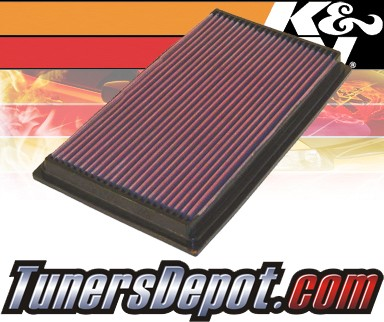 K&N® Drop in Air Filter Replacement - 98-03 Jaguar XJR 4.0L V8