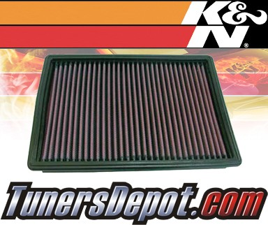 K&N® Drop in Air Filter Replacement - 98-04 Chrysler 300M 2.7L V6