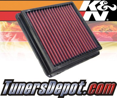 K&N® Drop in Air Filter Replacement - 98-04 Daewoo Matiz 0.8L L3