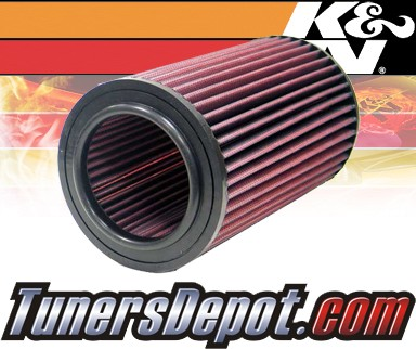 K&N® Drop in Air Filter Replacement - 98-04 Nissan Pickup Turbo 2.5L 4cyl Diesel