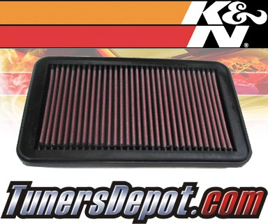 K&N® Drop in Air Filter Replacement - 98-05 Mazda Miata MX-5 MX5 1.8L 4cyl