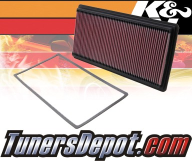 K&N® Drop in Air Filter Replacement - 98-07 Chevy Camaro 5.7L V8