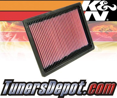 K&N® Drop in Air Filter Replacement - 98-99 Buick Riviera 3.8L V6