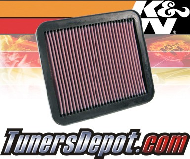 K&N® Drop in Air Filter Replacement - 99-00 Chevy Tracker 1.6L 4cyl