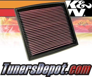 K&N® Drop in Air Filter Replacement - 99-01 BMW 740i E38 4.4L V8