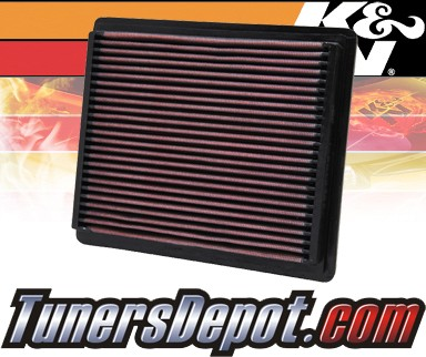 K&N® Drop in Air Filter Replacement - 99-01 Ford Explorer 5.0L V8