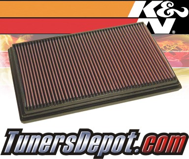 K&N® Drop in Air Filter Replacement - 99-02 Volvo S80 2.8L L6