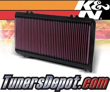 K&N® Drop in Air Filter Replacement - 99-03 Acura TL 3.2 3.2L V6
