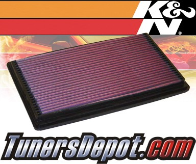 K&N® Drop in Air Filter Replacement - 99-04 Ford F150 F-150 Lightning 5.4L V8