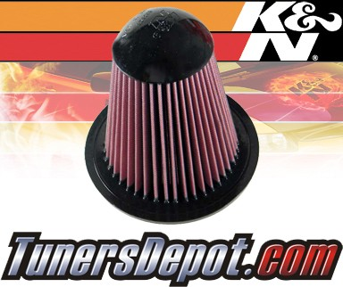 K&N® Drop in Air Filter Replacement - 99-04 Ford F550 F-550 6.8L V10