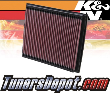 K&N® Drop in Air Filter Replacement - 99-04 Land Rover Discovery II 2.5L L5 Diesel