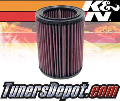 K&N® Drop in Air Filter Replacement - 99-07 Isuzu Trooper 3.0L 4cyl Diesel