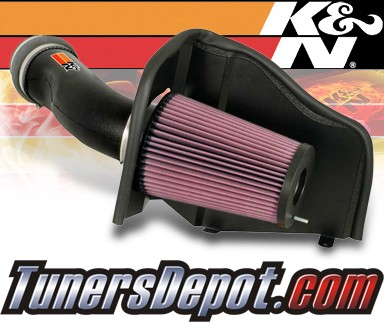 K&N® FIPK Intake System - 00-03 Ford Excursion 7.3L Diesel