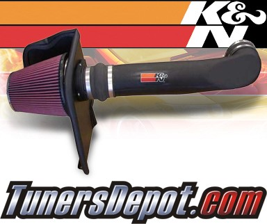K&N® FIPK Intake System - 02-06 Chevy Avalanche 2500 8.1L