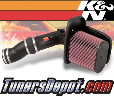 K&N® FIPK Intake System - 03-05 Ford Excursion 6.0L Diesel