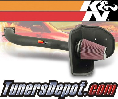 K&N® FIPK Intake System - 05 Ford Excursion 5.4L