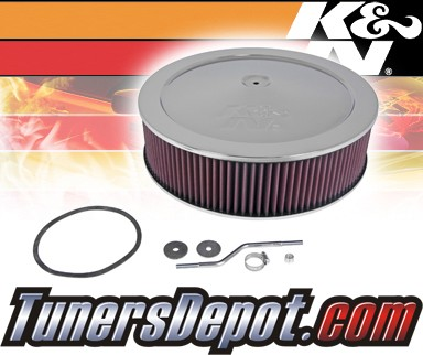 K&N® FIPK Intake System - 92-95 Chevy Suburban 2WD C2500 7.4L (w/o Heat Stove)