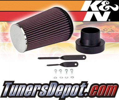 K&N® FIPK Intake System - 92-95 Honda Civic DX 1.5L L4 F/I - All