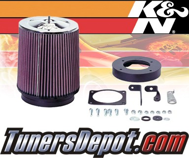 K&N® FIPK Intake System - 95-96 Ford Bronco 5.0/5.8L w/ Mass Air