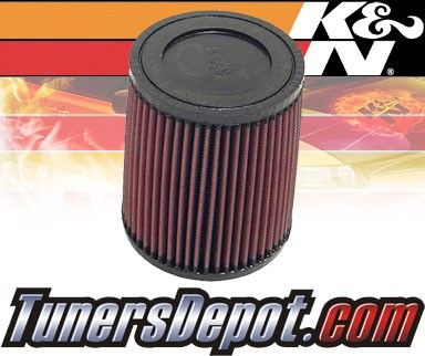 K&N® Universal Air Filter - 2.25 inch Cylinder Rubber Top