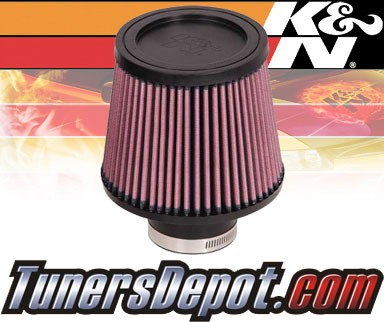 K&N® Universal Air Filter - 2.5 inch Cylinder Rubber Top