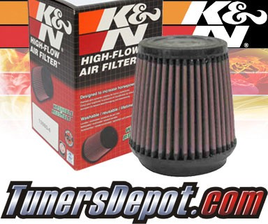 K&N® Universal Air Filter - 3.5 inch Cylinder Rubber Top