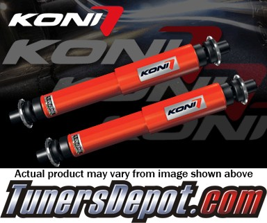 KONI® Heavy Track Shocks - 96-99 Toyota RAV4 RAV-4 (All models, Fits OE non sealed struts only) - (REAR PAIR)