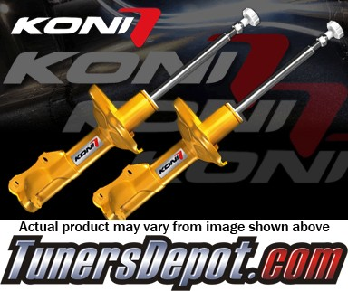KONI® Sport Shocks - 89-91 Honda Civic (Sedan/Hatch, Coupe (EF), Adj. Height: Frt 25mm) - (FRONT PAIR)