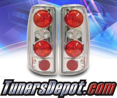 KS® Altezza Tail Lights - 00-06 Chevy Suburban (w/o Barn Doors)