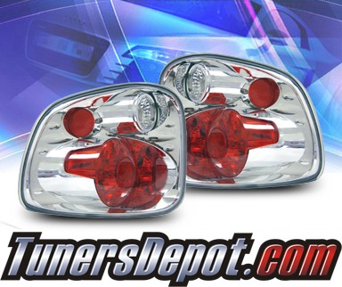 KS® Altezza Tail Lights - 01-03 Ford F-150 F150 Flareside