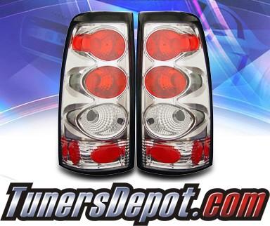 KS® Altezza Tail Lights - 2007 Chevy Silverado Dualie Classic