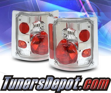 KS® Altezza Tail Lights - 73-87 GMC Full Size Pickup