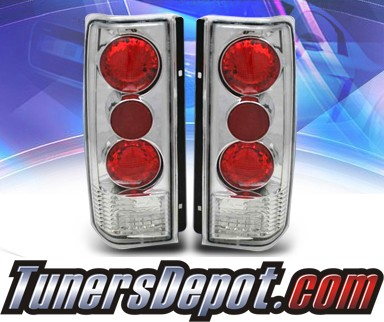 KS® Altezza Tail Lights - 85-01 GMC Safari Van