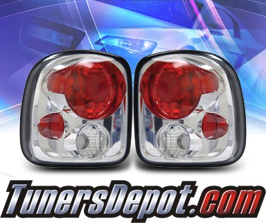 KS® Altezza Tail Lights - 99-02 Chevy Silverado Stepside