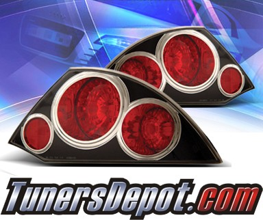 KS® Altezza Tail Lights (Black) - 00-02 Mitsubishi Eclipse