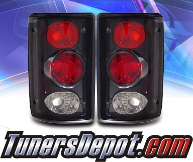 KS® Altezza Tail Lights (Black) - 00-05 Ford Excursion
