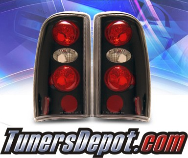 KS® Altezza Tail Lights (Black) - 00-06 Chevy Suburban (w/o Barn Doors)