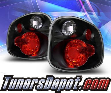 KS® Altezza Tail Lights (Black) - 01-03 Ford F-150 F150 Flareside
